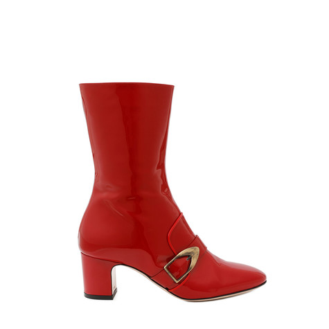 Ankle boots Red/red