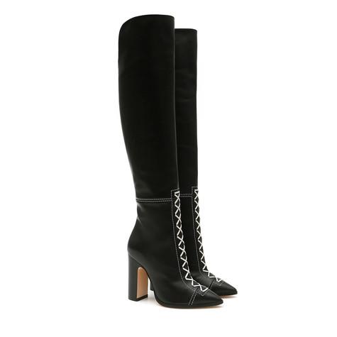 Boots Black/white