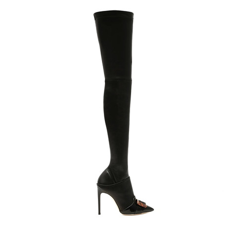 Over-the-knee boots Black/black/black