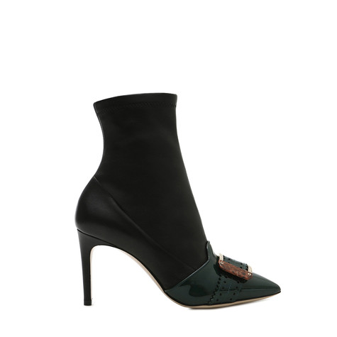 Ankle boots Teal/black