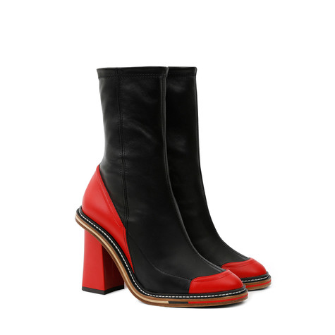 Ankle boots Red/black