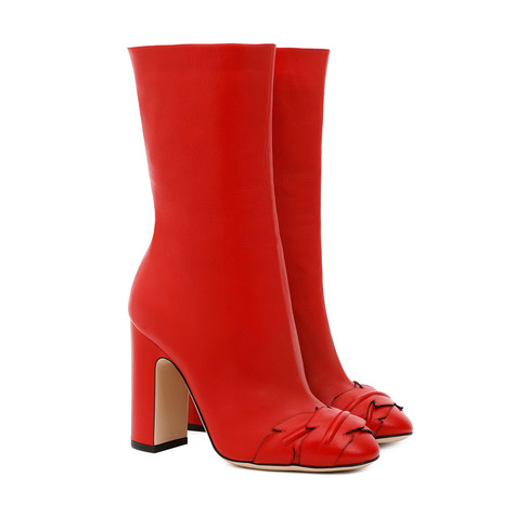 Ankle boots Red