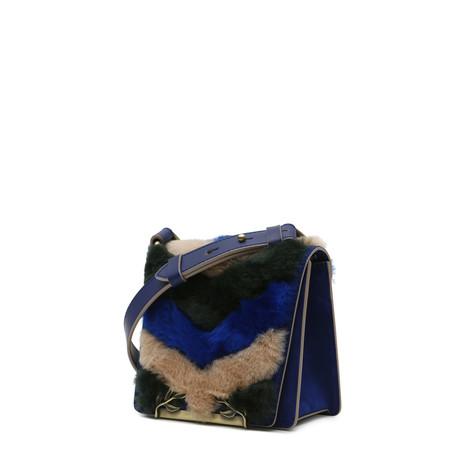 Shoulder bag Multicolour/electric blue/electric