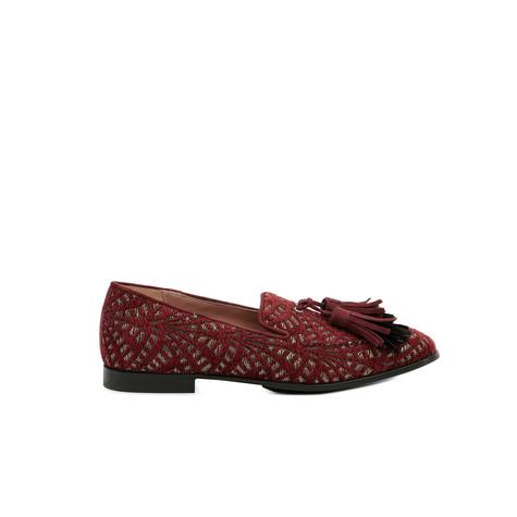 Loafers Burgundy/burgundy/black