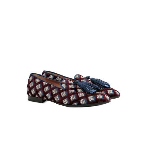 Loafers Burgundy/ocean/ocean