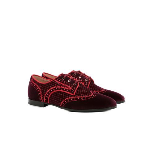 Derby shoes Burgundy