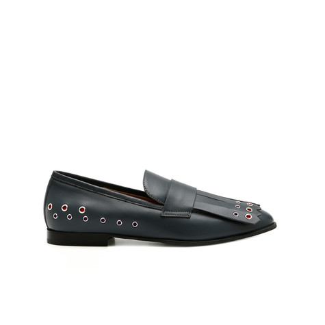 Loafers Lead/red/violet