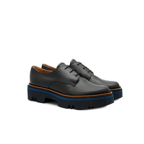 Derby shoes Ocean blue