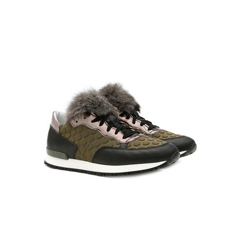 Sneakers Military green/black/steel/lead