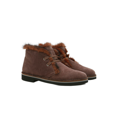 Desert boots Mud/burned