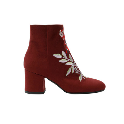 Ankle boots Burgundy