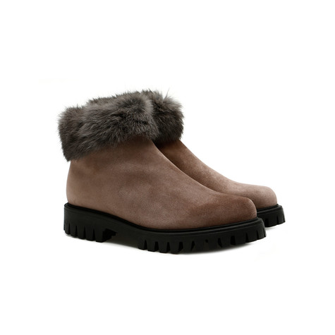 Ankle boots Mud/lead
