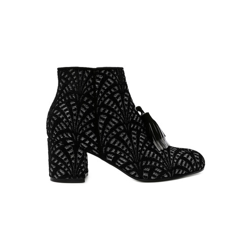 Ankle boots Black/black/lead