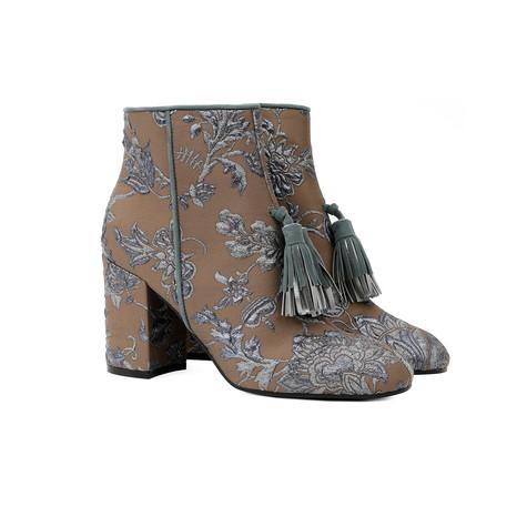 Ankle boots Mud-light blue/avio blue/steel