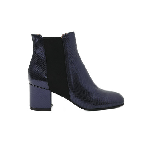 Ankle boots Ocean blue