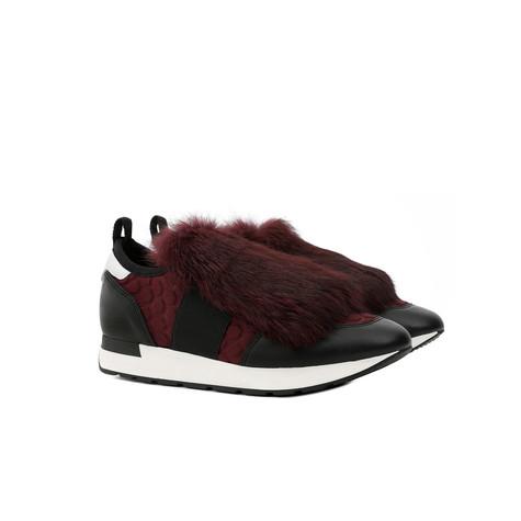 Sneakers Burgundy/black/white/burgundy/black