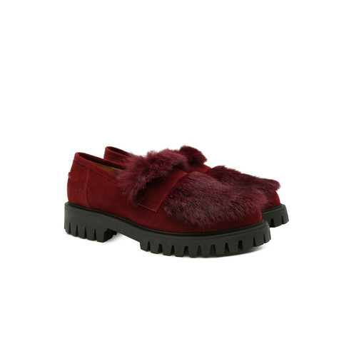 Loafers Burgundy/burgundy
