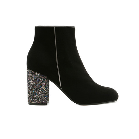 Ankle boots Black/gold