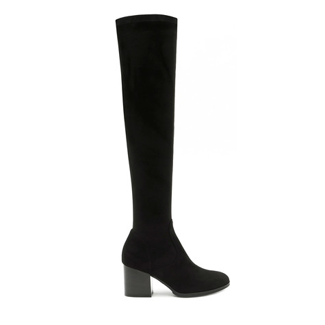 Over-the-knee boots Black