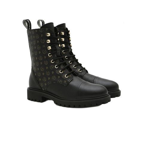 Combat boots Black/black