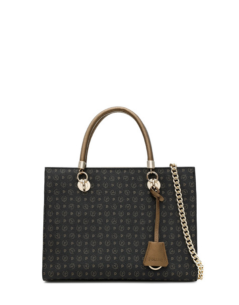 Shopping bag Black/bronze