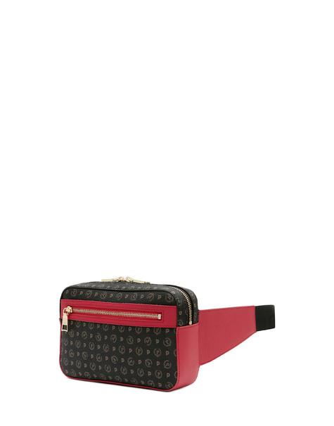 Belt bag Black/laky red