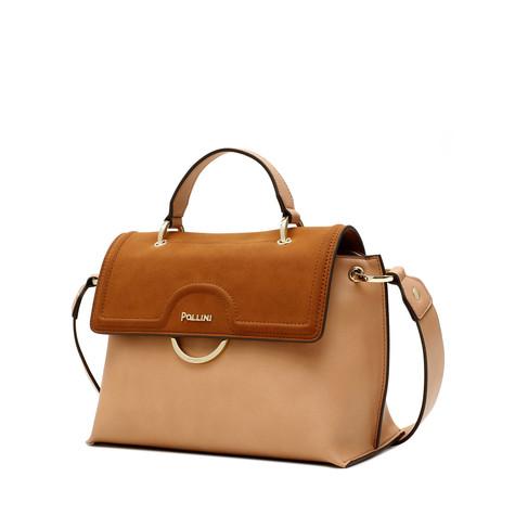 Handbag Nude/leather