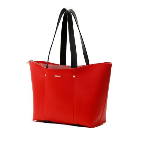 Shopping bag Red/ruby/black