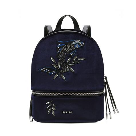Backpack Navy blue/black/black