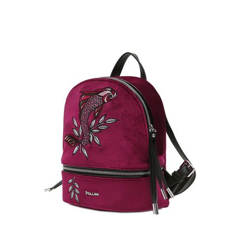 Backpack Bordeaux/black/black