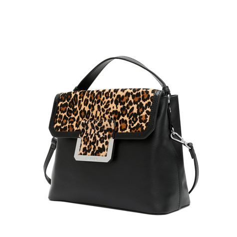 Handbag Black/black/leopard
