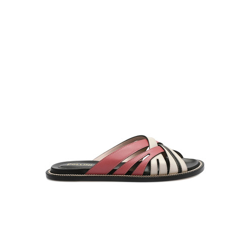 Sandali Cipria/avorio/nero
