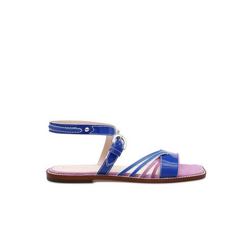 Sandali Bluette/lilla/bluette