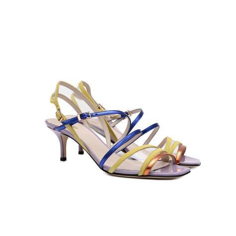 Sandals Transparent/orange/lime/bluette/lil
