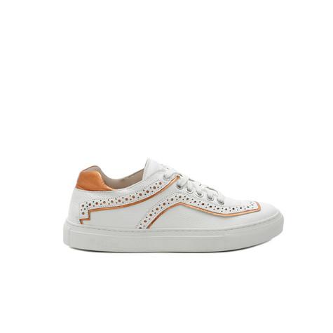 Sneakers White/orange