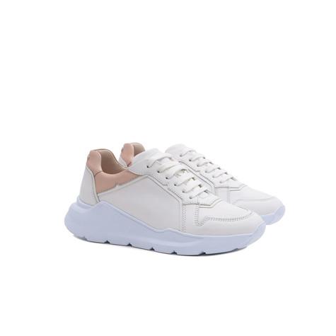 Sneakers Nude/bianco