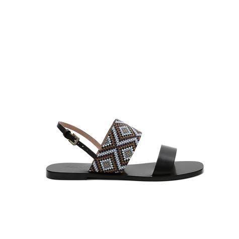 Sandals Black/blue
