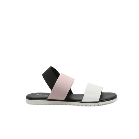 Sandali Bianco/nude/nero
