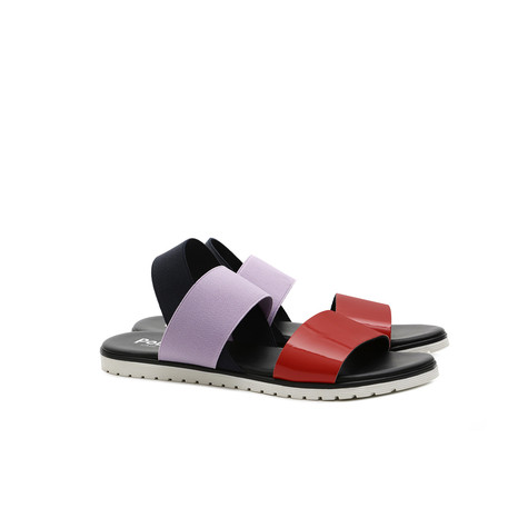 Sandals Poppy/iris/ocean