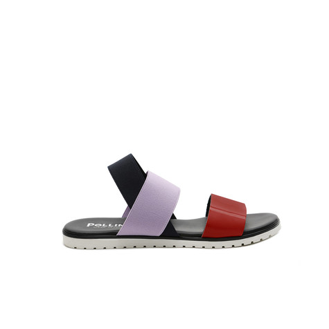 Sandali Papavero/iris/oceano