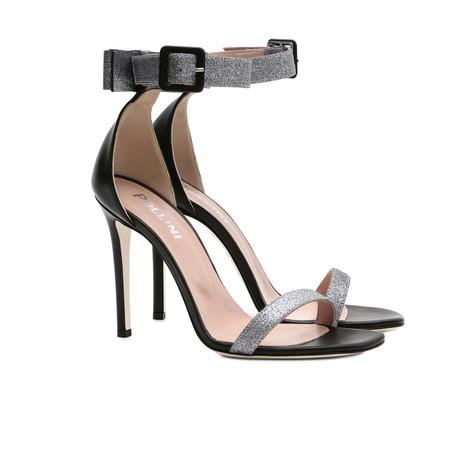 Sandali Acciaio/nero