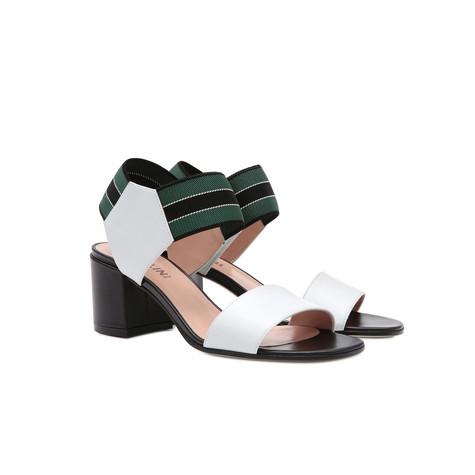 Sandali Ghiaccio/nero/verde-nero