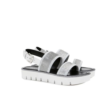 Sandals Silver/white