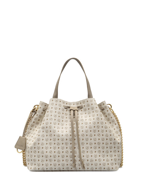 Shopping bag Ivory/ice