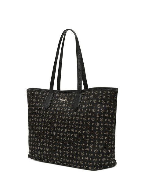 Heritage Logo Soft shopping bag BLACK/BLACK