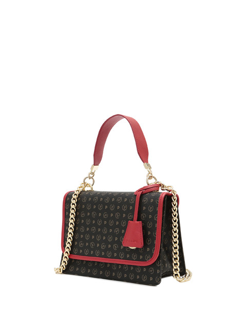 Handbag Black/laky red