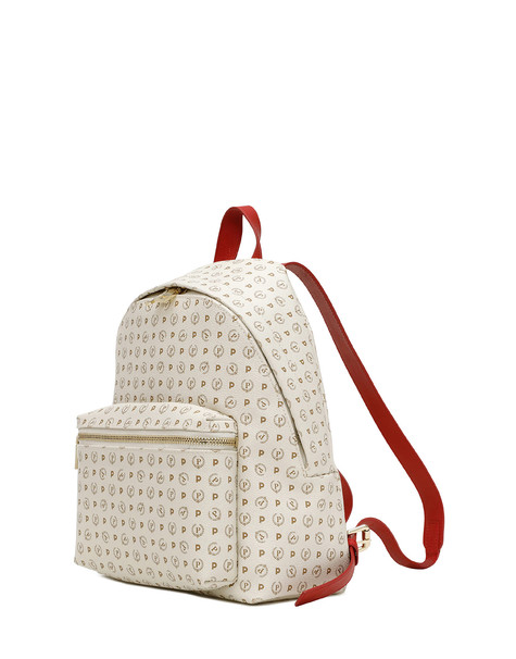 Backpack Ivory/laky red