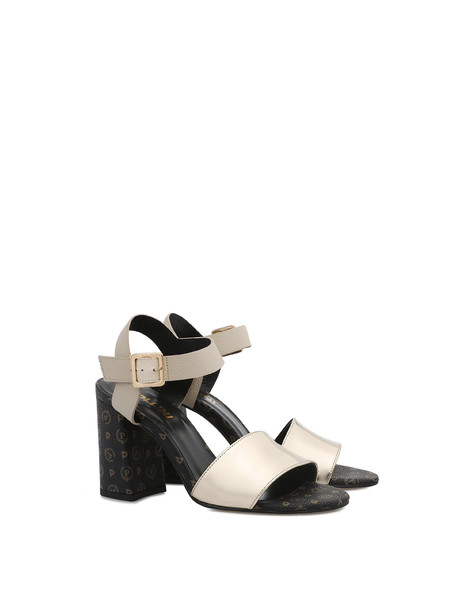 Sandals Black/ivory/platinum