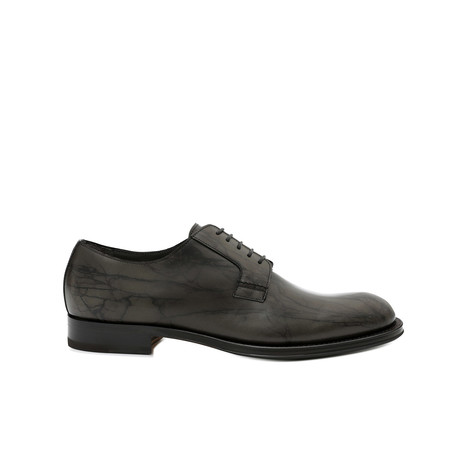 Derby shoes Military green
