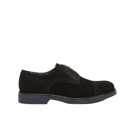 Derby shoes Dark brown